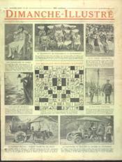 Dimanche Illustre N°129 du 16/08/1925 - Couverture - Format classique