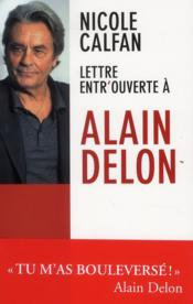Lettre entrouverte à Alain Delon - Couverture - Format classique