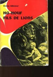 Ha-Houf - Fils De Lions - Couverture - Format classique
