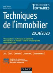 Vente  Techniques de l'immobilier (édition 2019)  - Serge Bettini - Sophie Bettini