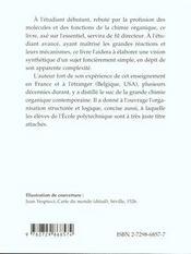 Quelques Concepts Directeurs De La Chimie Organique - 4ème de couverture - Format classique