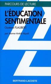 L'éducation sentimentale, de Gustave Flaubert - Couverture - Format classique