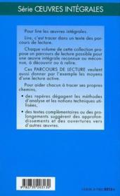 L'éducation sentimentale, de Gustave Flaubert - 4ème de couverture - Format classique