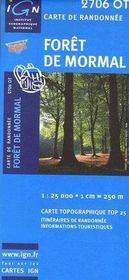 Forêt de Mormal ; 2706 OT - Couverture - Format classique