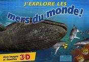 J'explore les mers du monde ! - Couverture - Format classique