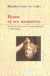 Rome et ses monstres - Intérieur - Format classique