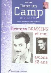 Dans un camp ; Basdorf, 1943 - Intérieur - Format classique