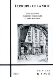 Crée t.1 ; écritures de la ville - Couverture - Format classique