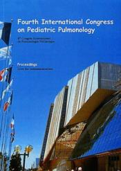 4th international congress on pediatric pulmonology - Couverture - Format classique