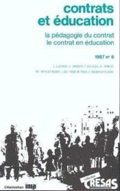 Contrats Et Education - Couverture - Format classique
