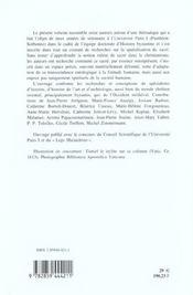 Sacre Et Son Inscription Dans L Espace A Byzance Et En Occident - 4ème de couverture - Format classique
