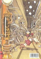 Number 5 t.7 - 4ème de couverture - Format classique