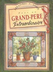 Pour Un Grand Pere Extraordinaire - Intérieur - Format classique