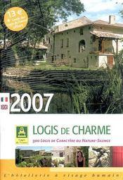 Guide logis de charme (édition 2007) - Intérieur - Format classique
