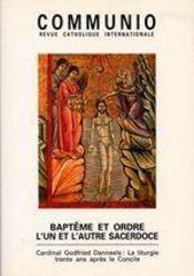 Baptême et ordre, l'un et l'autre sacerdoce - Intérieur - Format classique