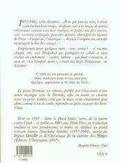 Le Roi Des Noir-Vetus - 4ème de couverture - Format classique