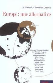 Europe une alternative - Couverture - Format classique