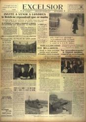 Excelsior N°9224 du 15/03/1936 - Couverture - Format classique