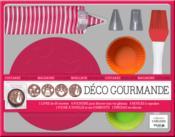 Déco gourmande ; coffret - Couverture - Format classique