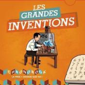 Les grandes inventions - Couverture - Format classique