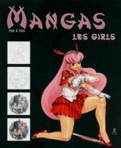 Manga girls ; dessiner pas à pas - Couverture - Format classique