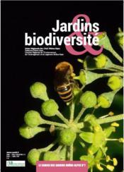 Cahier Des Jardins Rhone-Alpes N.7 ; Jardins Et Biodiversité - Couverture - Format classique