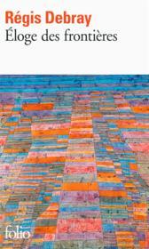 Éloge des frontières - Couverture - Format classique