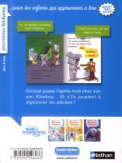 Kikekoa et Ornicar ; on est de vrais espions - 4ème de couverture - Format classique