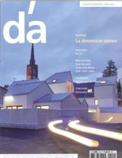 Vente livre :  D'Architectures N 243  La Dimension Sonore  - Collectif