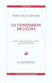 La Confession De Lucio - Intérieur - Format classique