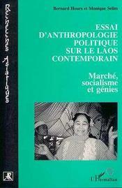 Essai D'Anthropologie Politique Sur Le Laos Contemporain - Intérieur - Format classique