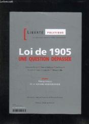 Liberté politique T.31 ; octobre/novembre - Couverture - Format classique