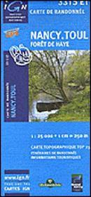 Forêt de Haye ; Nancy ; Toul ; 3315 ET - Intérieur - Format classique