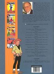 Chick Bill ; intégrale t.11 - 4ème de couverture - Format classique