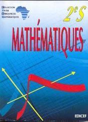 Mathématiques ; CIAM ; 2nde S - Couverture - Format classique