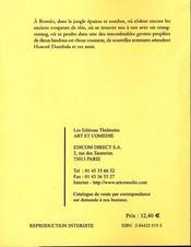 Panique a borneo ou honore chez les coupeurs de tete - 4ème de couverture - Format classique