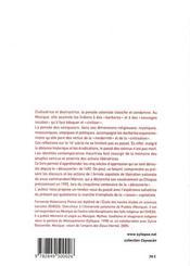 La pensée coloniale ; découverte, conquête et guerre des dieux au mexique - 4ème de couverture - Format classique
