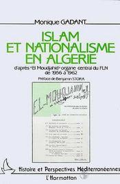 Islam Et Nationalisme En Algerie - Intérieur - Format classique