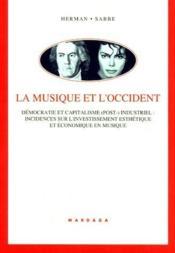 Musique Et L'Occident - Couverture - Format classique