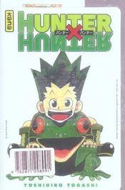 Hunter X Hunter T21 - 4ème de couverture - Format classique