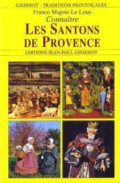 Connaître les santons de Provence - Couverture - Format classique