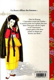 Histoires de Kisaeng t.1 ; la barque du destin - 4ème de couverture - Format classique