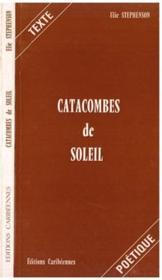 Catacombes de soleil - Couverture - Format classique