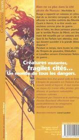 Empire De Poussiere 2 (L') - 4ème de couverture - Format classique