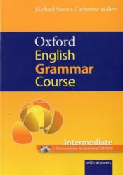 Vente  Oxford english grammar course: intermediate with answers cd-rom pack  - Xxx