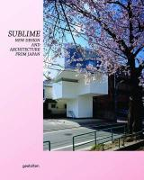 Vente livre :  Sublime new design and architecture from japan  - Klanten R