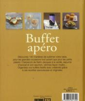 Buffet apéro - 4ème de couverture - Format classique