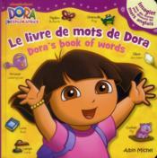 Le livre de mots de Dora - Couverture - Format classique