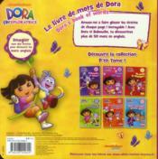 Le livre de mots de Dora - 4ème de couverture - Format classique