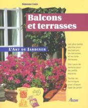 Balcons Et Terrasses - Couverture - Format classique